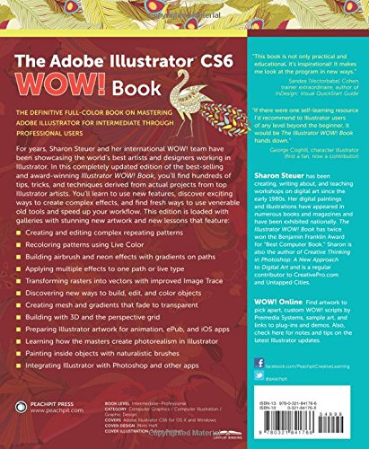 Buy The Adobe Illustrator CS6 WOW! Book Book Online at Low