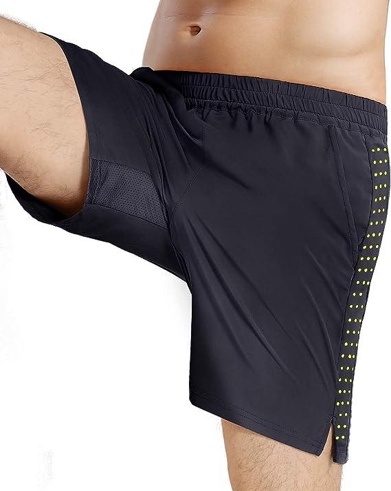 ECHT Muscle Fit Training shorts black male sportswear training health gym Cross