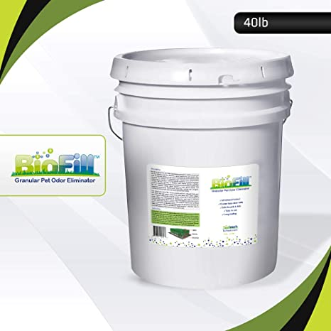 BioFill Artificial Grass Turf Granular Infill Deodorizer and Eliminator -  All Natural, Long Lasting Pet Dog Urine Odor Deodorizer to Filter and