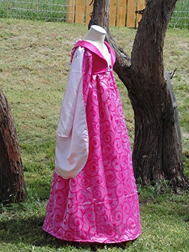 Girls 10 Renaissance Maiden with petticoat included