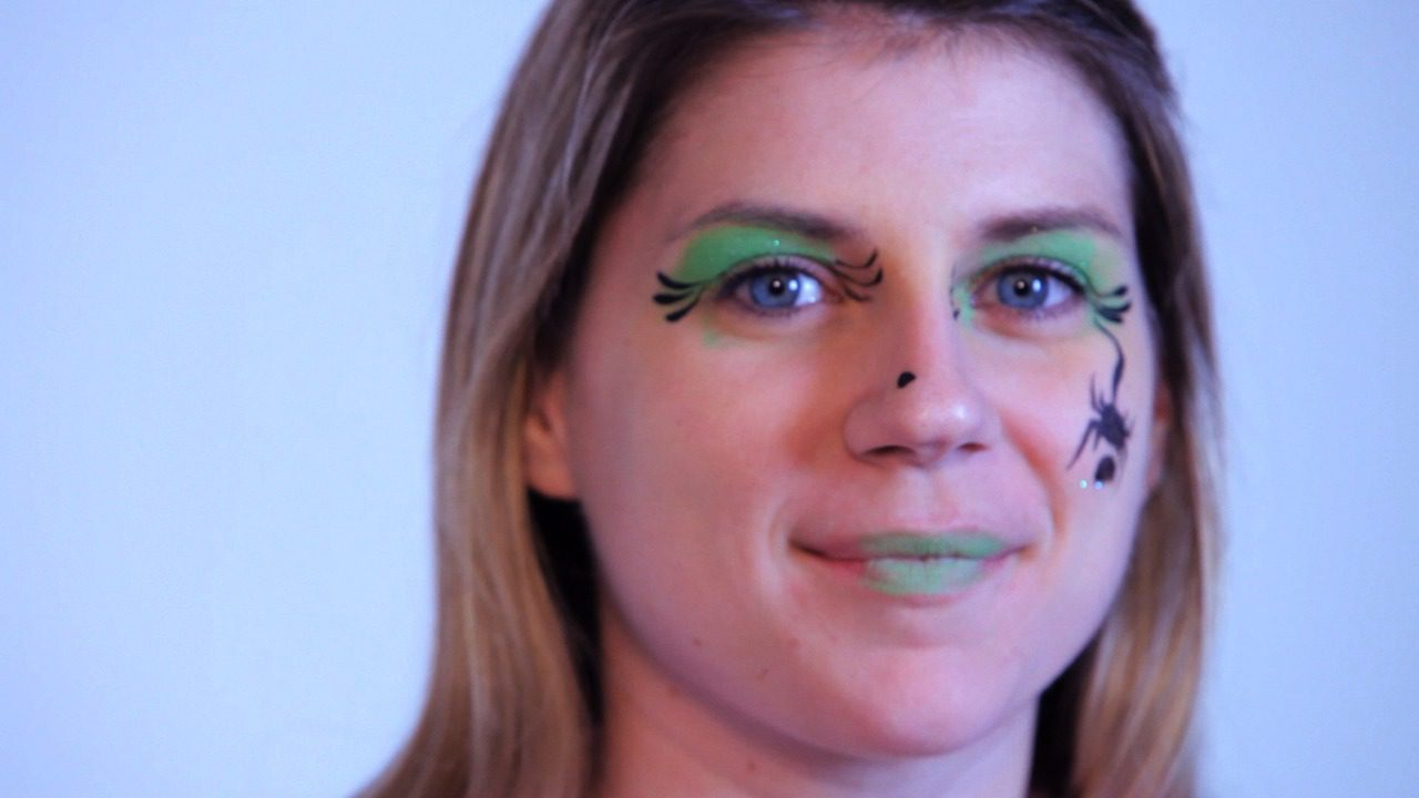 How To Paint A Witch With Face Paint