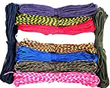 550 Paracord 7 Inner Strands Mil Spec Type lll- Choose 15ft, 50ft or 100ft- Camping Hiking Survival Bushcraft