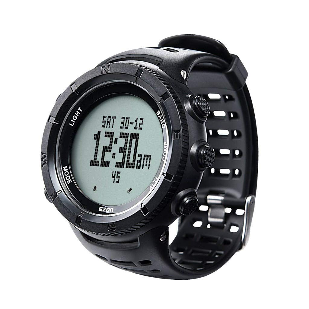 1KTon Climbing Sport Watch AndAltimeter Barometer C ompass Thermometer Waterproof by 1KTon