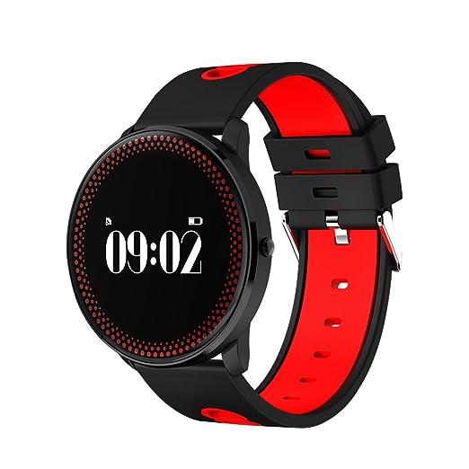Estudiante del reloj inteligente deporte Fitness Tracker multifunción relojes corazón tasa Medidor de presión arterial reloj: Amazon.es: Relojes
