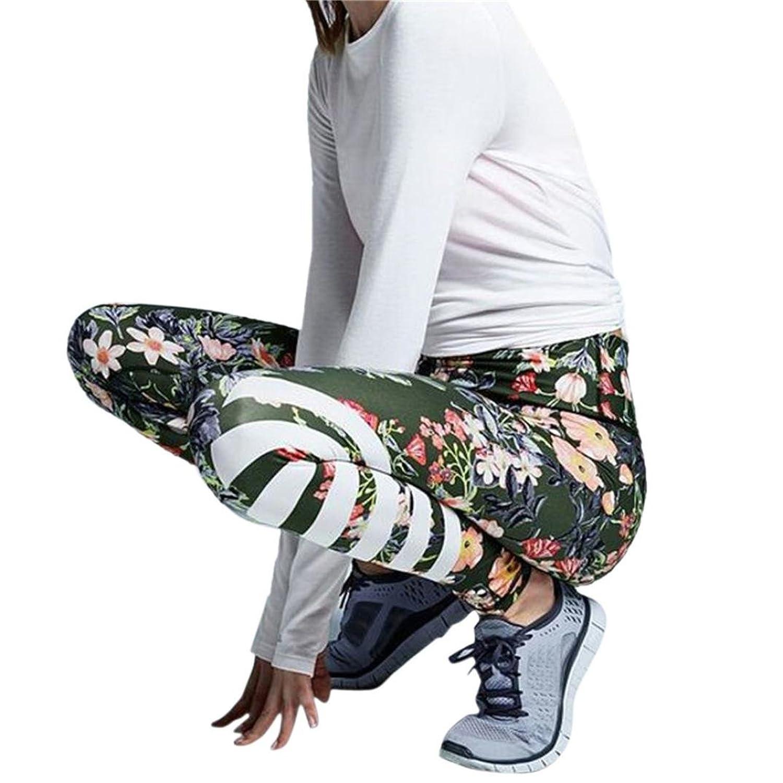 Damen Yoga Leggings Hose , Yogogo Hohe Taille Pants   Dünne Hosen ...