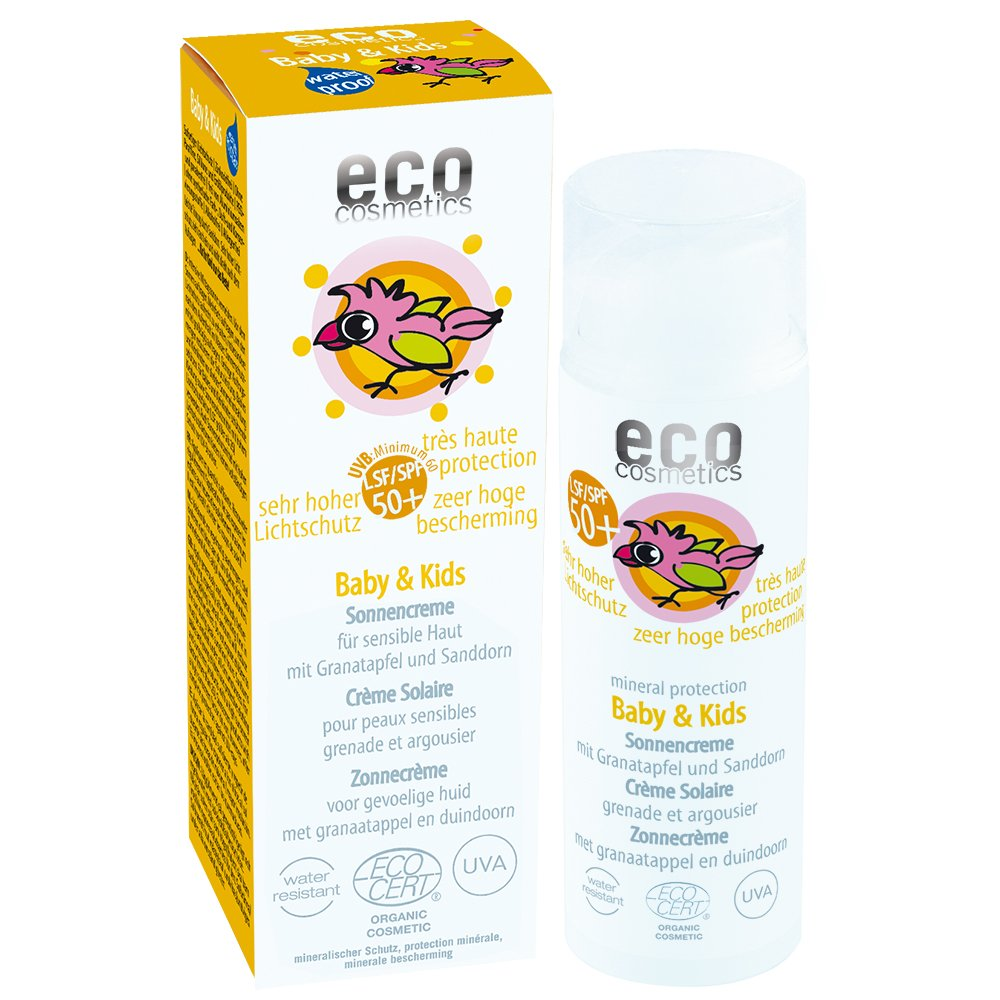 eco cosmetics: Baby $ Kids Sonnencreme LSF 50+ (50 ml) ECO-BABY-SUNCREME-LSF50