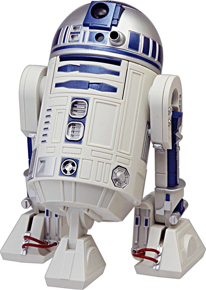 リズム時計 RHYTHM STAR WARS ( スターウォーズ ) R2-D2 音声アクション 目覚し キャラクター 時計 白 8ZDA21BZ03 B00O7CI3CO
