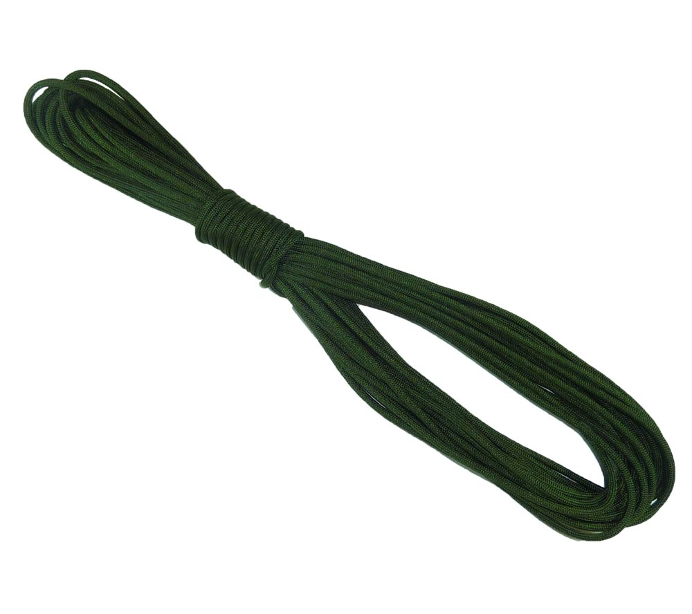 5col 550 Type 3 Nylon Parachute Paracord - MIL-C-5040H & PIA-C-5040 (Camo Green, 50 Feet) by 5col Survival Supply (Image #2)