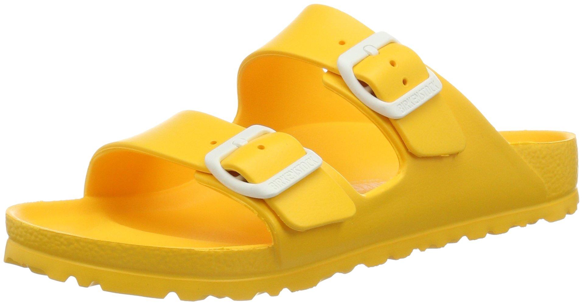 Birkenstock Unisex Arizona EVA Dual Buckle Sandals, Scuba Yellow - 37 M EU