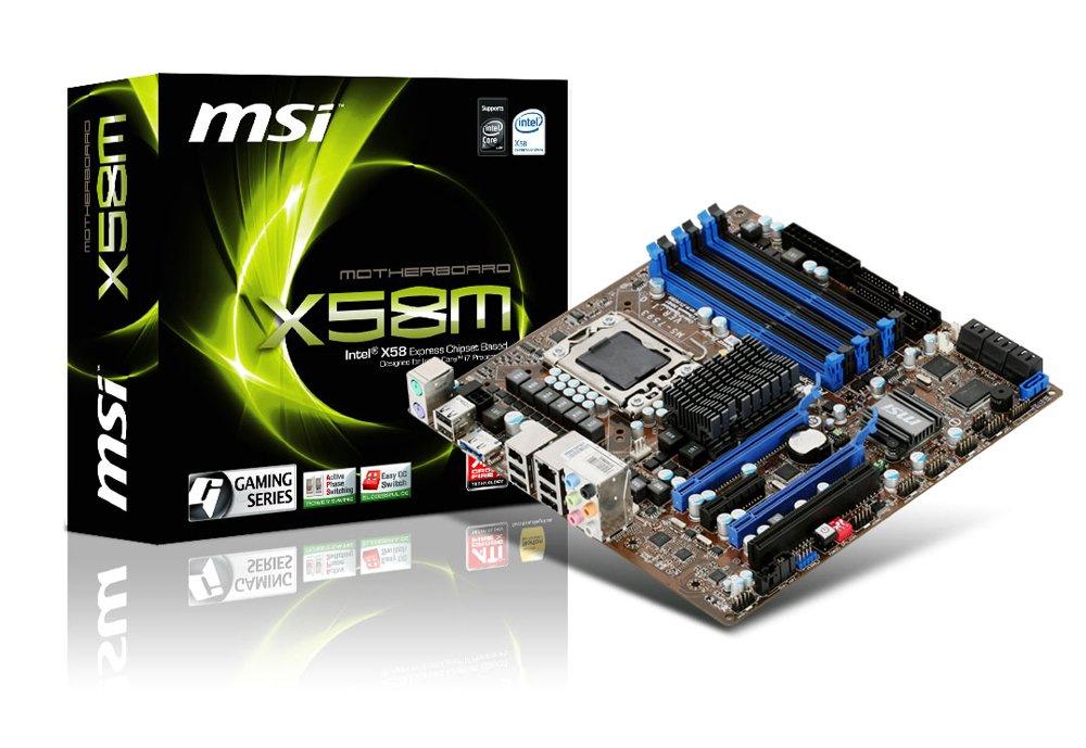 MSI X58M - Placa Base (24 GB, Intel, Core i7, Socket B (LGA ...