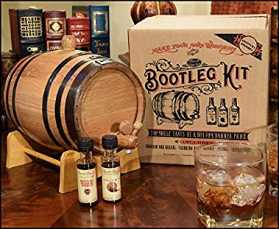 Bootleg Kit™ Barrel Aged Kentucky Bourbon Making Kit (2 Liter)