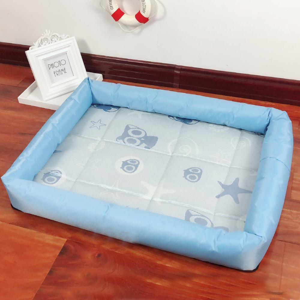 50407cm BiuTeFang Pet Bolster Dog Bed Comfort Pet Nest Mat Nest dog Ice mat