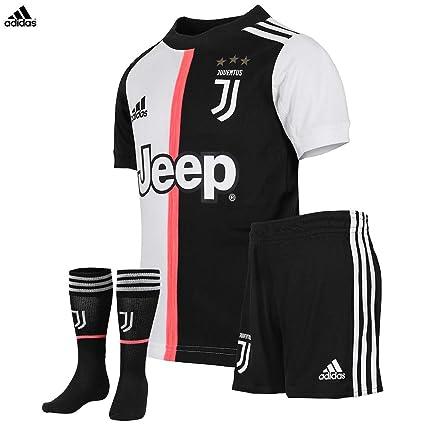 Dettagli su Nuova Maglia Juventus Home Ronaldo CR7 Campionato 201920 Scudetto+Patch Bambino