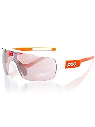 f4bf574c361 POC DO Half Blade AVIP Sunglasses Hydrogen White Zink Orange VLS   Cap  Bundle at Amazon Men s Clothing store