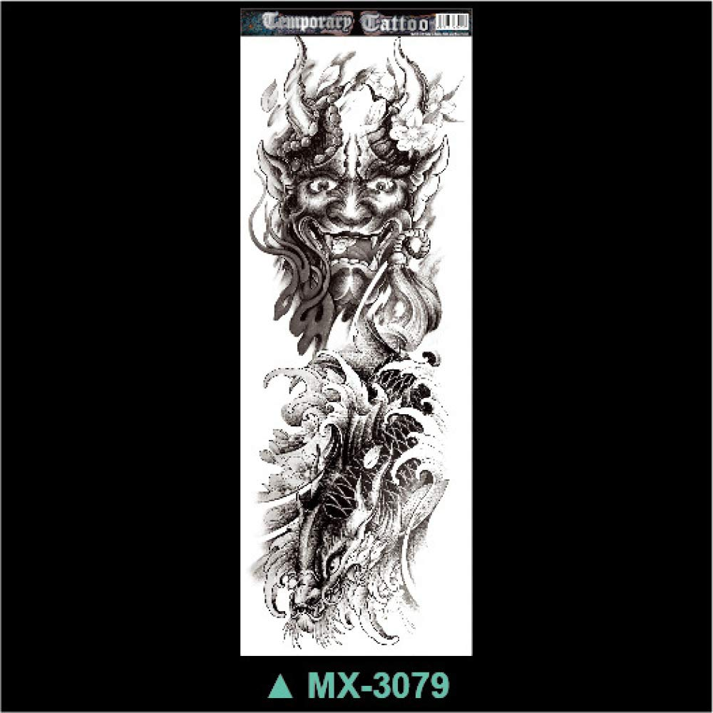 Handaxian Tatuaje de Brazo Completo Personalizado Tatuaje mecánico ...