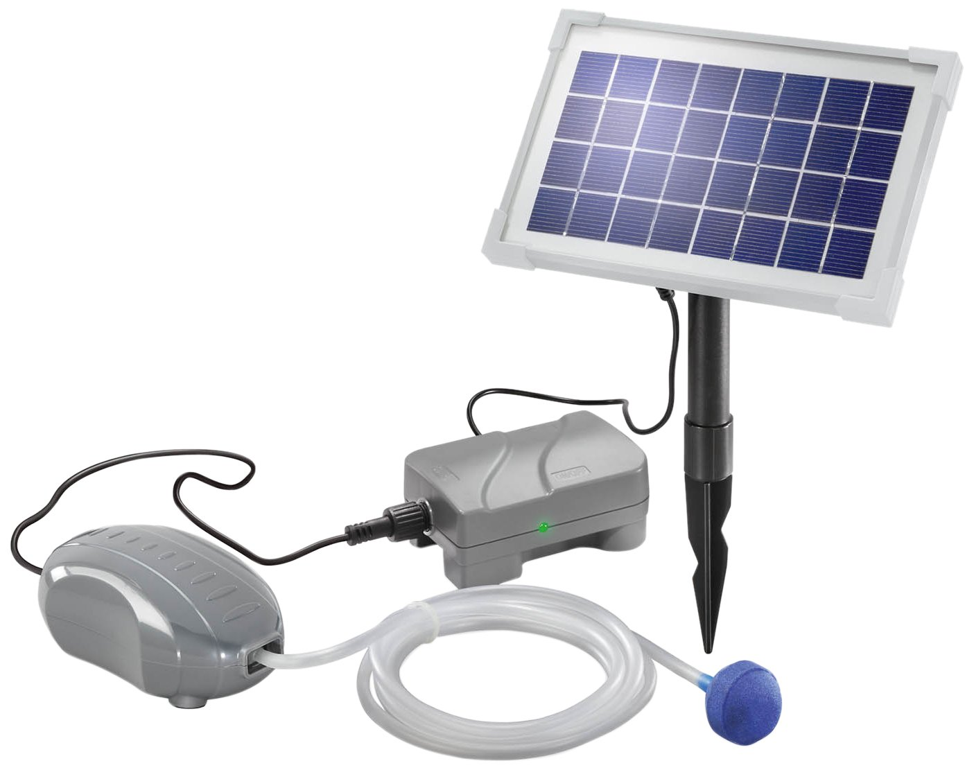 "Esotec 101872 Solar Pond Aerator ""Solar Air Plus"""