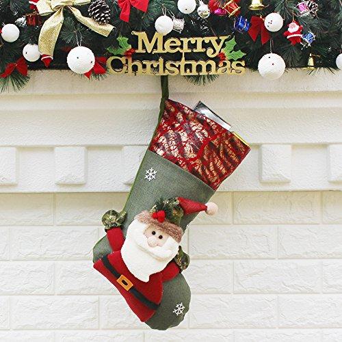 christmas socks gift bag home decoration shelf hanging christmas ornaments decorations gift christmas decorations large luxury