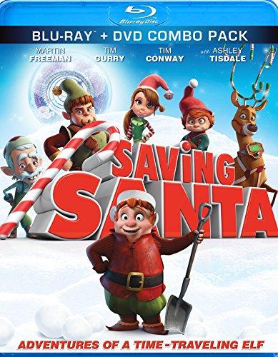 Blu-ray : Saving Santa (With DVD, 2 Pack, 2 Disc)