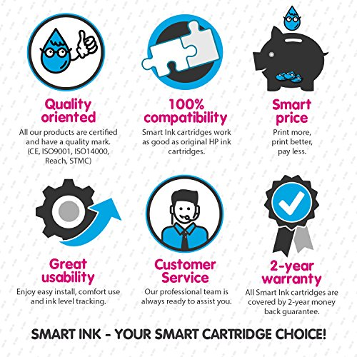 Smart Ink Compatible Ink Cartridge Replacement for HP 932 XL 933 XL 932XL 933XL High Yield 3 Pack (C/M/Y Colors) Ink Cartridges High Capacity for HP Officejet 6600 6100 6700 7110 7610 7612 Printers Photo #6
