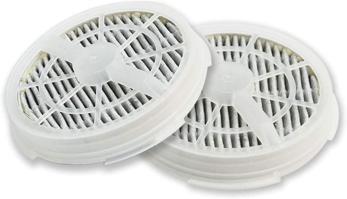 Milkvetch 2 Paquetes Filtro HEPA de Repuesto + Filtro de CarbóN Activado para RIGOGLIOSO Purificador de Aire PortáTil GL-2103 / GL-2100
