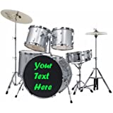 custom bass drum head decal many sizes use our stock designs or send us yours. Black Bedroom Furniture Sets. Home Design Ideas