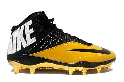 super popular 6aba1 9f956 Amazon.com | Nike Men's Special Promo Code Elite 1/4 TD Football Cleats  (16, Black/Black-Gold Dart) | Football
