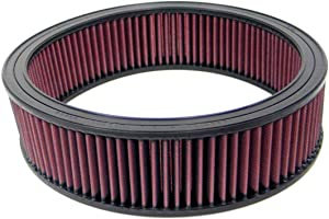 K&N Engine Air Filter: High Performance, Premium, Washable, Replacement Filter: Fits Select 1980-1995 CHEVROLET/GMC/PONTIAC/ISUZU Vehcile Models(See Description for Fitment Information), E-1065