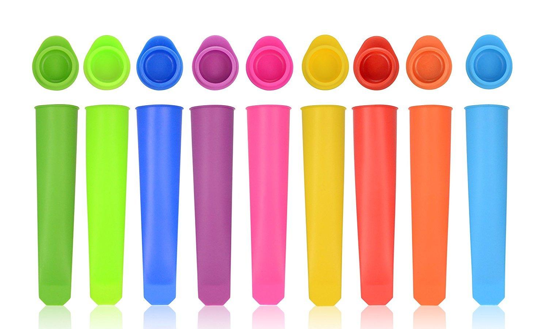 Popsicle Mould Food Grade Pure, Non-toxic, Set Of 10 Tubes reusable HoShip