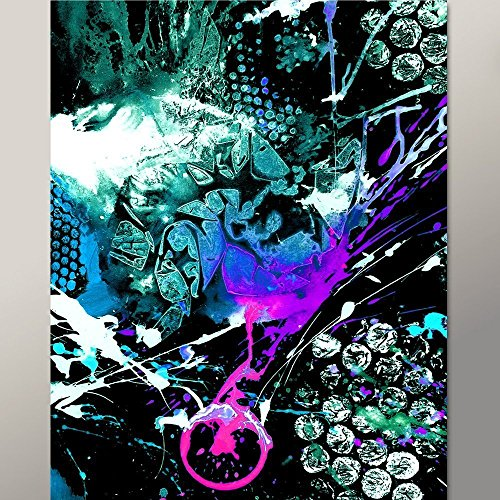 Destiny Point (Abstract Print 11x14 Contemporary Modern Fine Art by Destiny Womack - The Breaking Point - dwo)