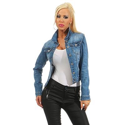 nouveau produit 62141 e6b1e Fashion4Young - Blouson - Jeans - Femme [12WjaS0300977] - €42.39