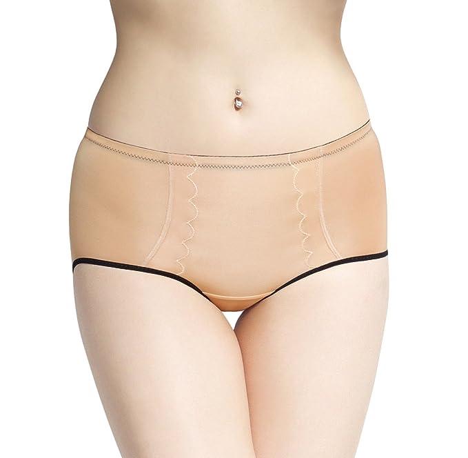 5f657a948 SODACODA Women s Butt Enhancer Silicone Pants - 300g Drop Shape Pads Beige  XL
