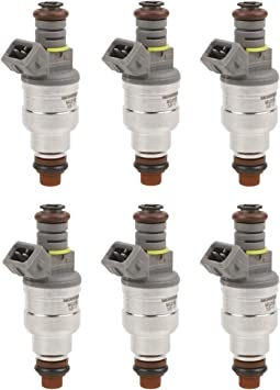 Amazon Com Mostplus Fuel Injectors Compatible For Ford 6 Cyl 3 8l 4 9l F1ze B4c F1zz9f593b Set Of 6 Automotive