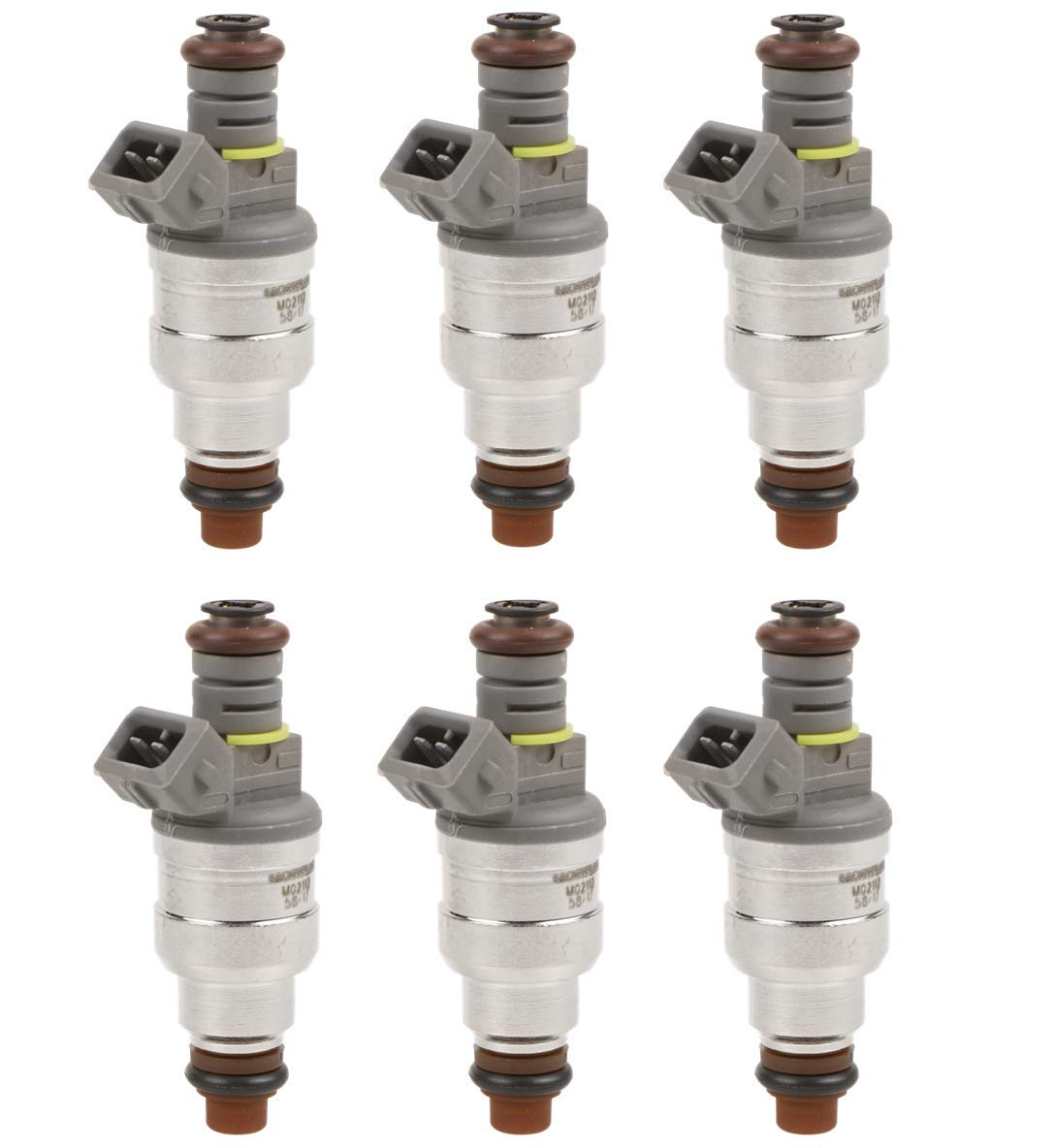 MOSTPLUS 6 PCS Fuel Injectors For Ford Ranger Explorer Mustang Mazda B400 Mercury Mountaineer Land Rover LR3 4.0L 0280158055 822-11193
