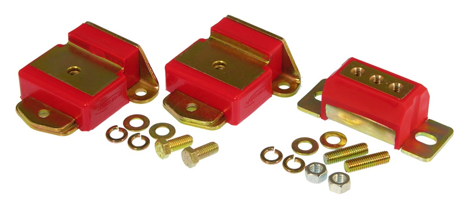 Prothane 7-1907 Red Motor and Transmission Mount Kit by Prothane