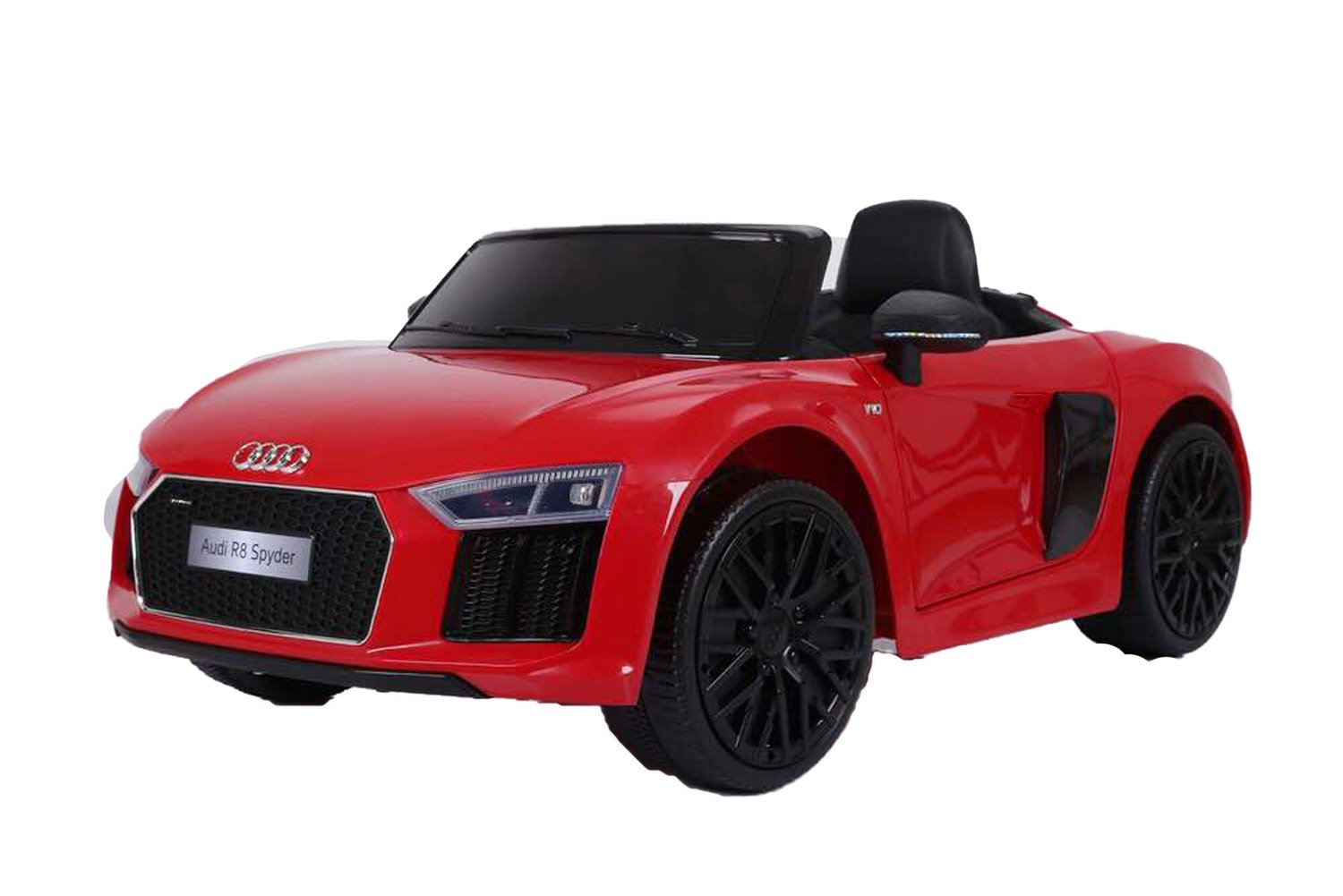 GetBest Audi R14 Spyder Battery Operated Kids Ride on Car with Remote (Red) | minimum price of audi car