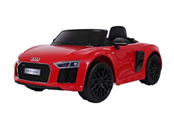 Buy GetBest Licensed Audi R Spyder Battery Operated Kids Ride On - Audi car r8 price in india