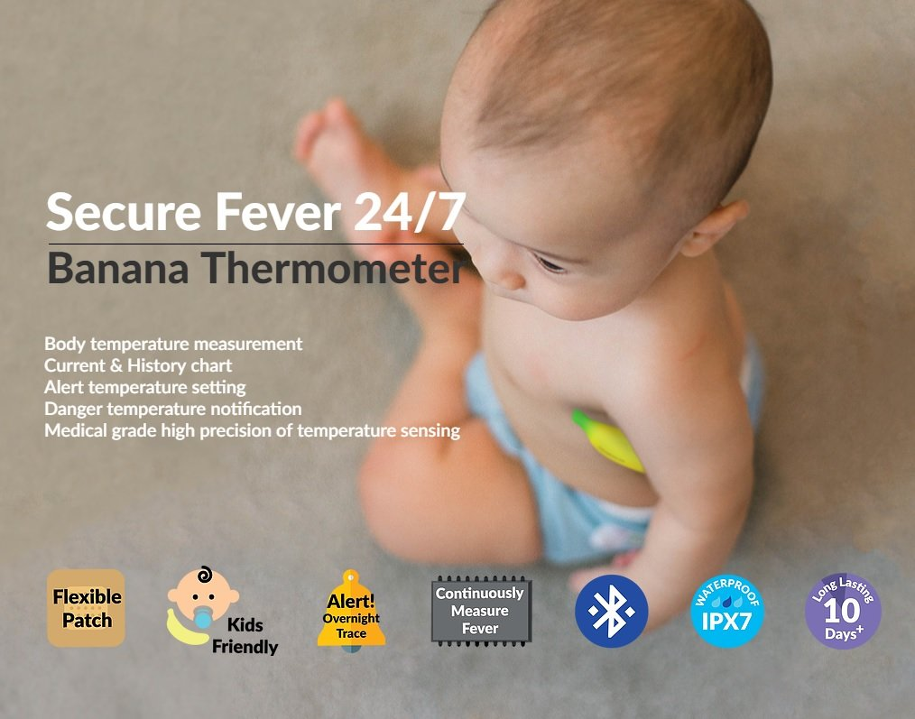 Wearable Smart Banana Thermometer