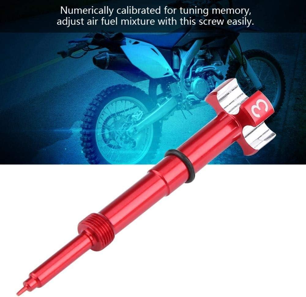 4Pcs Easy Adjust Fuel Mixture Screw for Dirt Bike Carb Air Carburetor Blue