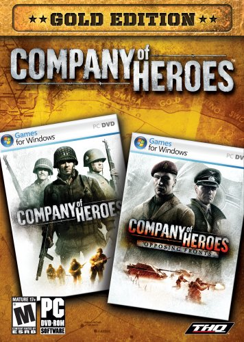 Amazon Com Company Of Heroes Gold Edition Video Games