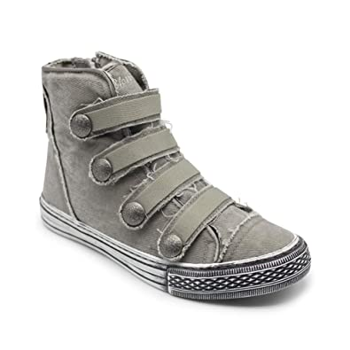 c9ae65ecc87e Blowfish Kyan Drizzle Grey Hipster Smoked Tw Womens High-Top Sneaker Size 6M