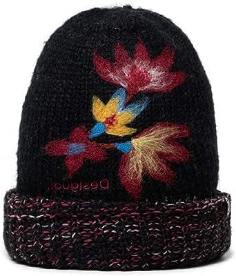Desigual Hat_Twist Turbantes, Black, U para Mujer