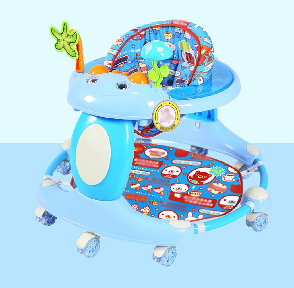 Baby-Wanderer Baby-Wanderer 6-18 Monate Baby-Anti-Rollover Multifunktionaler Musik-Walker ( Farbe   B )