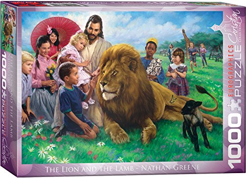 eurographics-the-lion-and-the-lamb-by-nathan-greene-1000-piece-puzzle