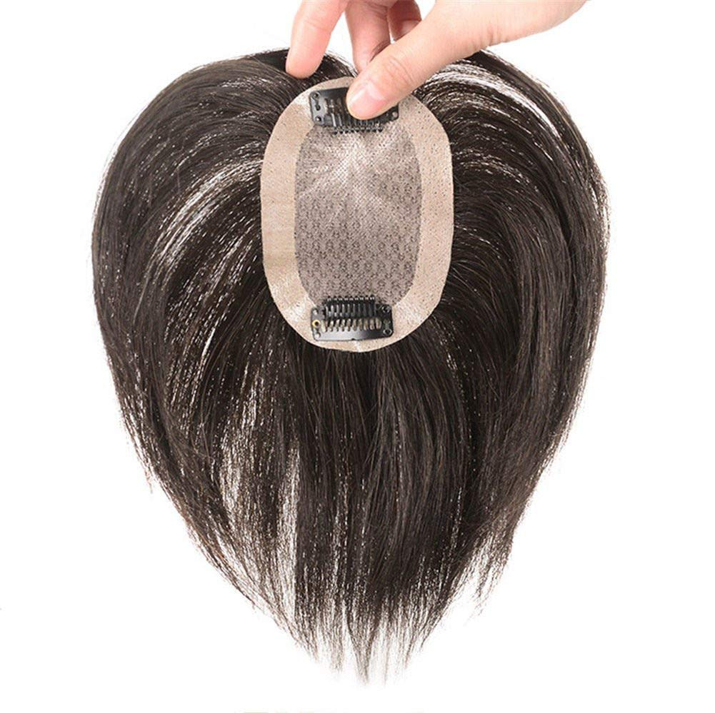 Amazon.com : Real Human Hair Toppers for Short Hair Hand Tied Clip