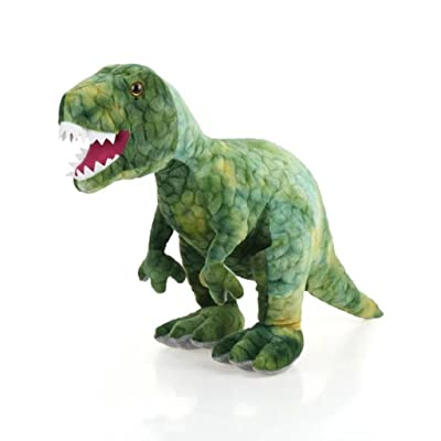 "AIXINI Stuffed Dinosaur Plush Toy - 31.5"" Long Realistic Stuffed Animal Toy for Boy Girls Kids and Toddlers, Green: Toys & Games"