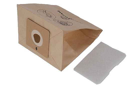 Moulinex MT000501 - Set de 6 bolsas de papel y 1 microfiltro para Accessimo/Compacteo