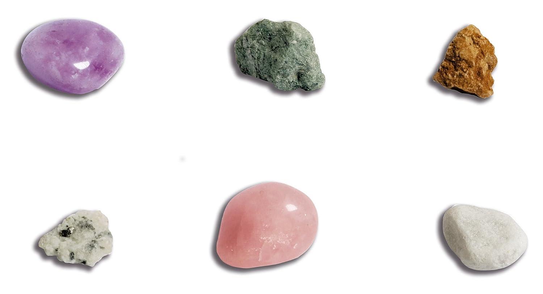 Clementoni 69940.7 - Galileo - Ausgrabungs-Set - Steine und Mineralien Experimentierkästen