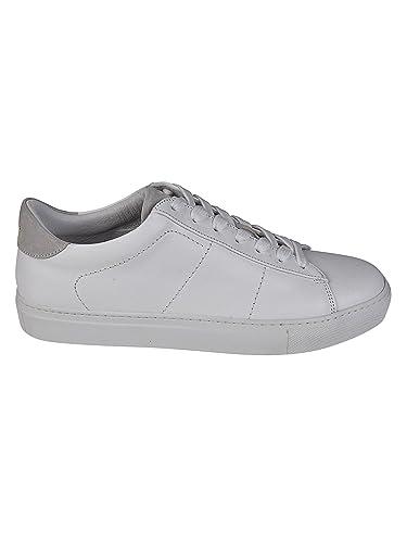 1e1c0dfa094a Dondup Herren Xs058y357uxxxdu000 Weiss Leder Sneakers  Amazon.de ...