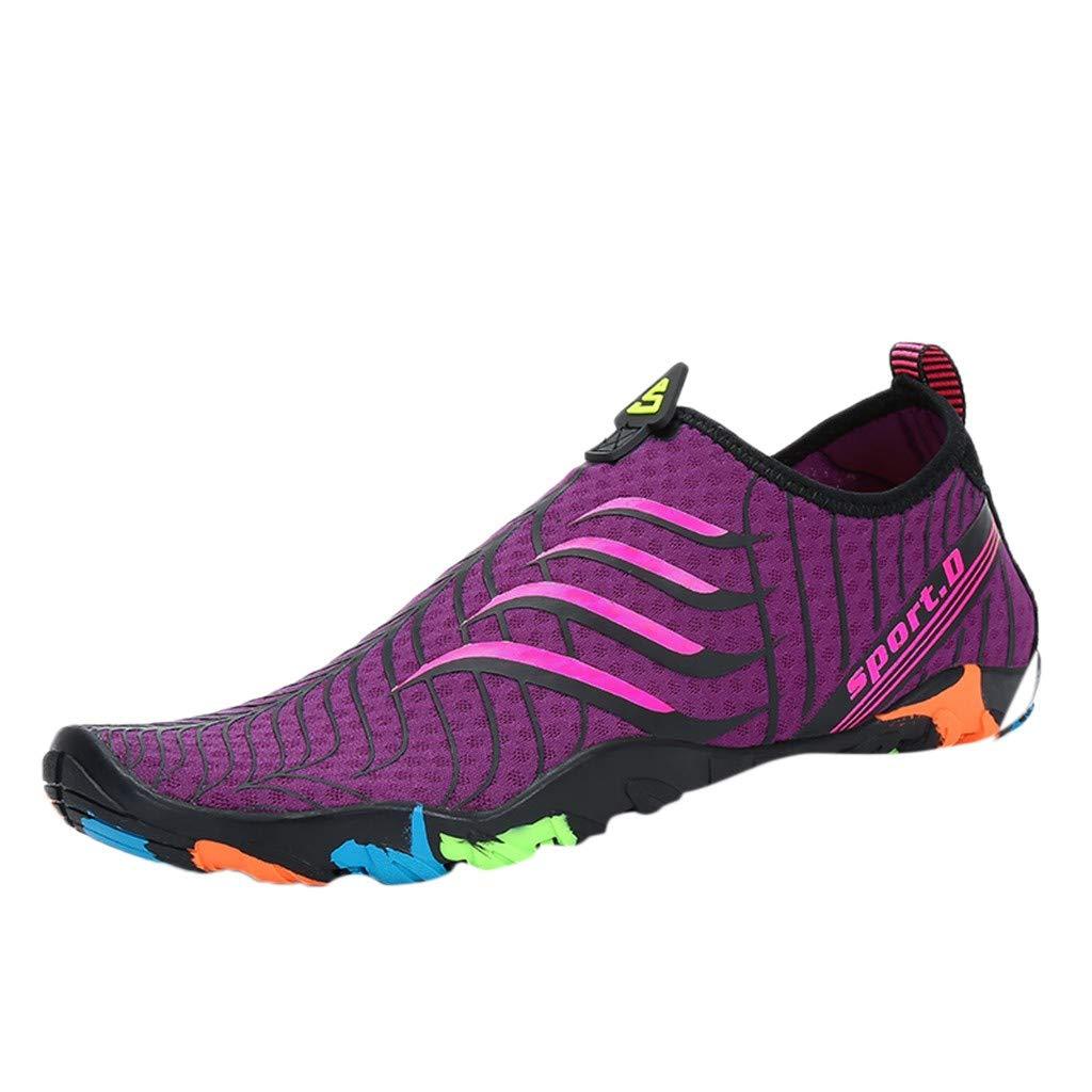 [Qisc_Shoes] レディース 6.5 M US パープル B07PZYRC18