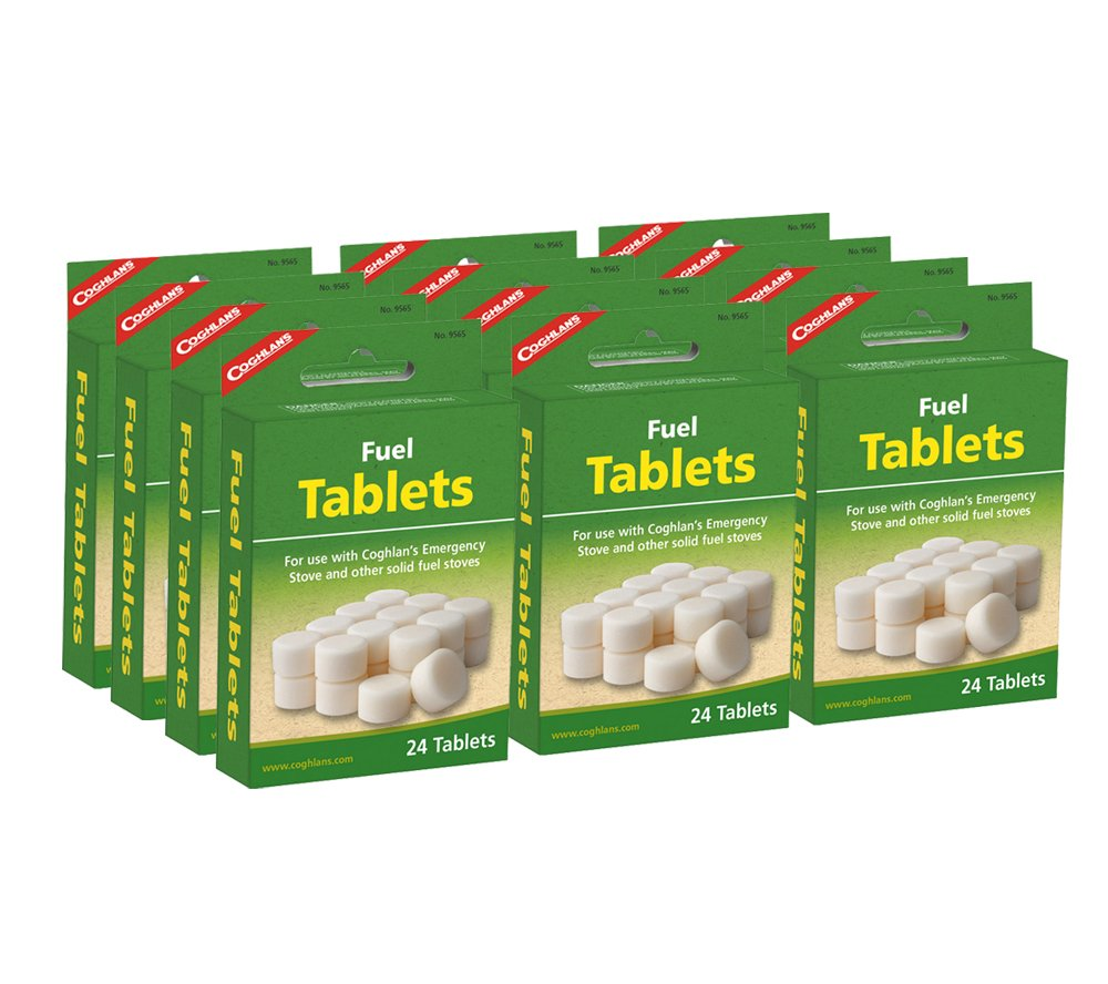 12 Packs of 24 Coghlans Solid Fuel Tablets